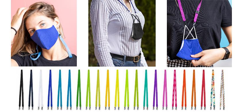 Lanyards portamascarillas: un cordón para sujetar tu mascarilla